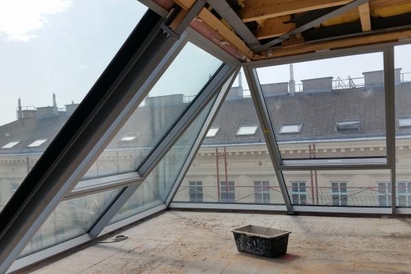 1020 Wien Dachgeschossausbau